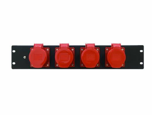19 Zoll Stromverteiler 4fach Eurolite PDM 3U-4CEE 16A/5-polig 3 HE