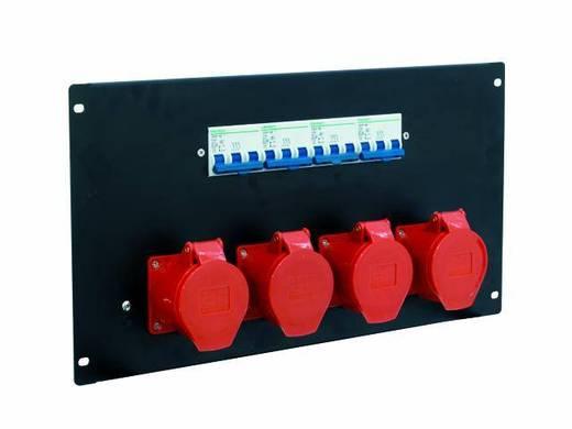 19 Zoll Stromverteiler 4fach Eurolite PDM 6U-4CEE 32A/5-polig 6 HE
