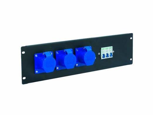 19 Zoll Stromverteiler 3fach Eurolite PDM 3U 3CEE 16A / 3-polige 3 HE