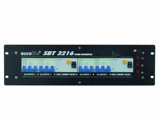 19 Zoll Stromverteiler 4fach Eurolite SBT-3216 3 HE
