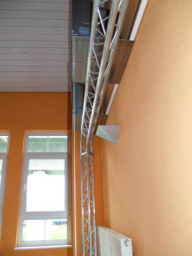 3-Punkt Traverse 3-Weg-Ecke 90 ° Alutruss TRISYSTEM PAL-34