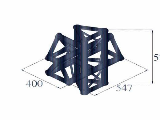 3-Punkt Traverse 5-Weg-Ecke 90 ° Alutruss TRISYSTEM PAT-51