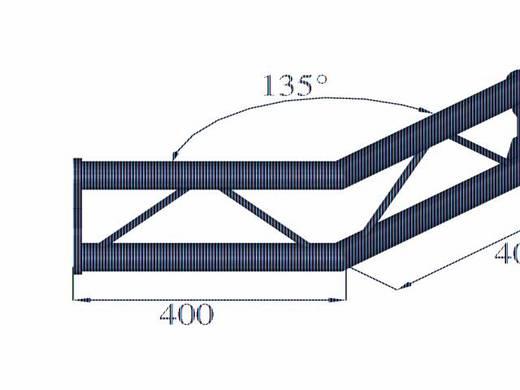 2-Punkt Traverse Ecke 135 ° Alutruss BISYSTEM PV-23