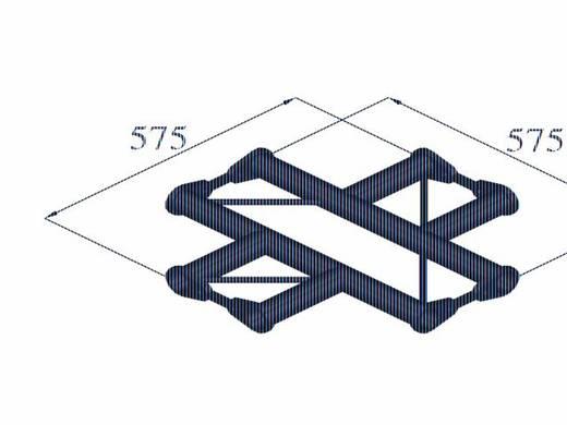 2-Punkt Traverse Kreuzstück 90 ° Alutruss BISYSTEM PH-41