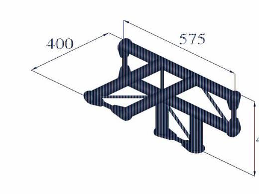 2-Punkt Traverse 4-Weg-Ecke 90 ° Alutruss BISYSTEM PH-42