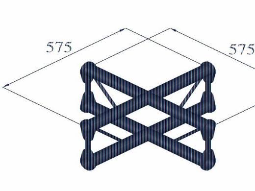 2-Punkt Traverse Kreuzstück 90 ° Alutruss BISYSTEM PV-41