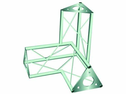 3-Punkt Traverse 3-Weg-Ecke 90 ° Alutruss DECOTRUSS SAL 33