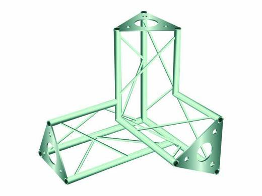 3-Punkt Traverse 3-Weg-Ecke 90 ° Alutruss DECOTRUSS SAL 34