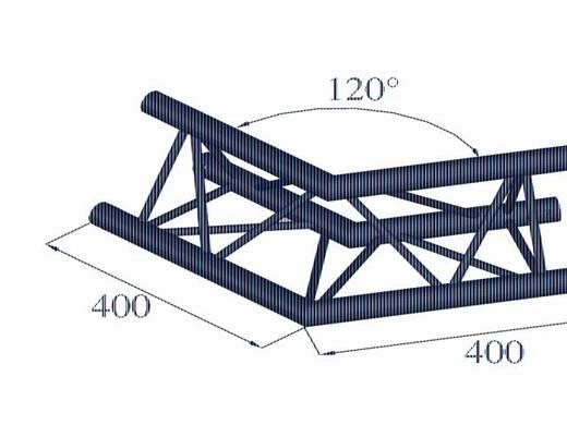 3-Punkt Traverse Ecke 120 ° Alutruss DECOLOCK DQ3-PAC22