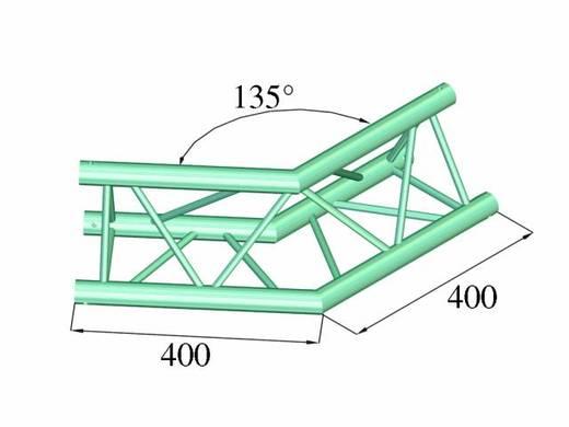 3-Punkt Traverse Ecke 135 ° Alutruss DECOLOCK DQ3-PAC23