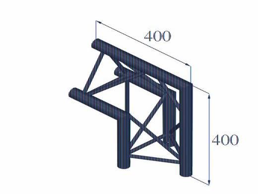 3-Punkt Traverse Ecke 90 ° Alutruss DECOLOCK DQ3-PAC24