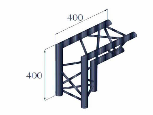 3-Punkt Traverse Ecke 90 ° Alutruss DECOLOCK DQ3-PAC25