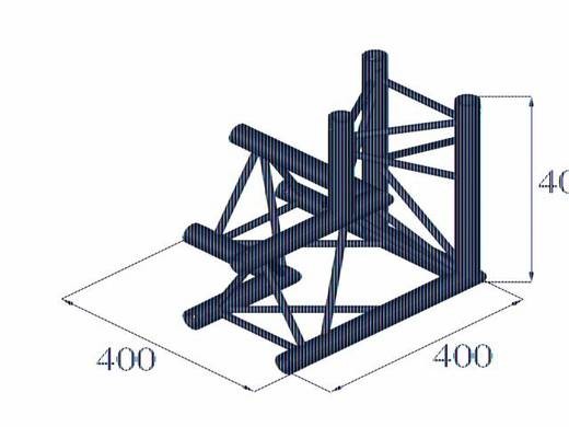 3-Punkt Traverse 3-Weg-Ecke 90 ° Alutruss DECOLOCK DQ3-PAL33