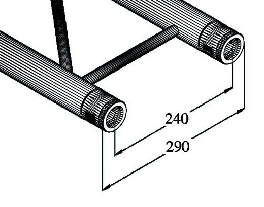 2-Punkt Traverse 200 cm Alutruss BILOCK BQ2-2000