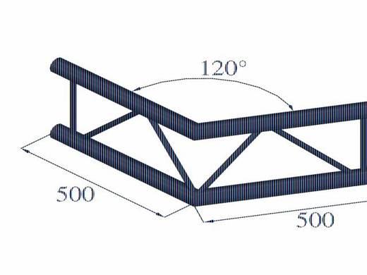 2-Punkt Traverse Ecke 120 ° Alutruss BILOCK BQ2-PAC22V