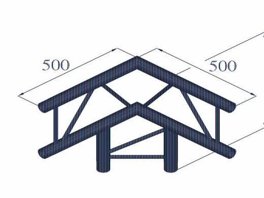 2-Punkt Traverse 3-Weg-Ecke 90 ° Alutruss BILOCK BQ2-PAL31V
