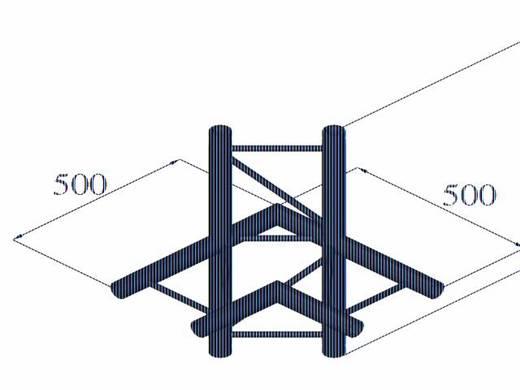 2-Punkt Traverse 4-Weg-Ecke 90 ° Alutruss BILOCK BQ2-PAC44H