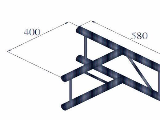 2-Punkt Traverse T-Stück 90 ° Alutruss DECOLOCK DQ2-PAT36V