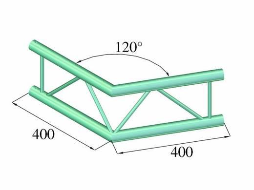 2-Punkt Traverse Ecke 120 ° Alutruss DECOLOCK DQ2-PAC22V