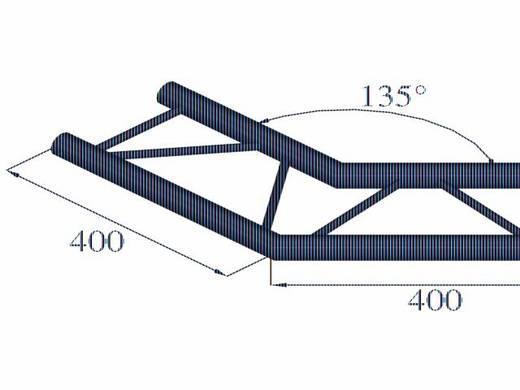 2-Punkt Traverse Ecke 135 ° Alutruss DECOLOCK DQ2-PAC23H