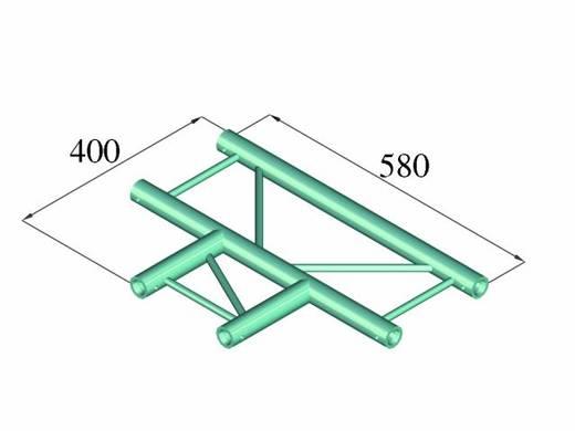 2-Punkt Traverse T-Stück 90 ° Alutruss DECOLOCK DQ2-PAT35H