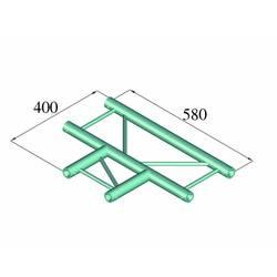 Image of Alutruss DECOLOCK DQ2-PAT35H 2-Punkt Traverse T-Stück 90 °