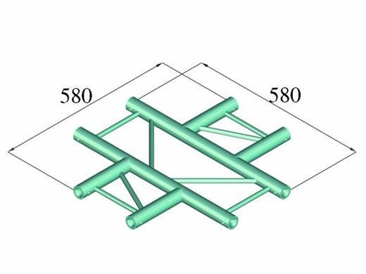 2-Punkt Traverse Kreuzstück 90 ° Alutruss DECOLOCK DQ2-PAC41H