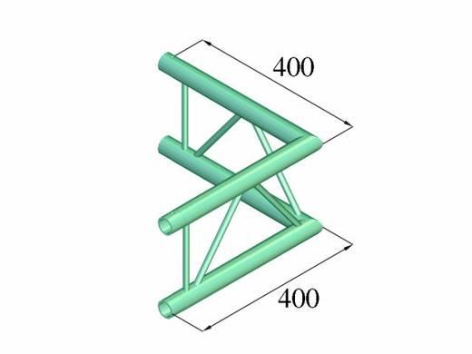 2-Punkt Traverse Ecke 90 ° Alutruss DECOLOCK DQ2-PAC21V