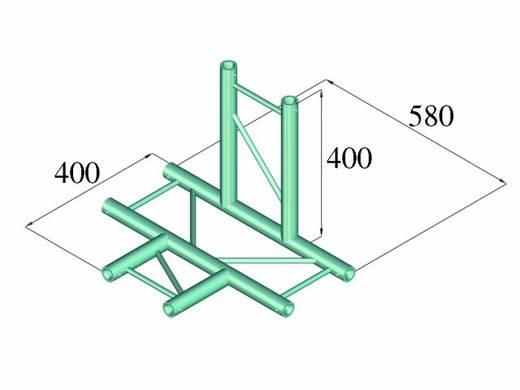 2-Punkt Traverse 4-Weg-Ecke 90 ° Alutruss DECOLOCK DQ2-PAT42H
