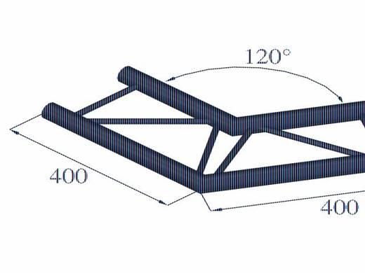 2-Punkt Traverse Ecke 120 ° Alutruss DECOLOCK DQ2-PAC22H