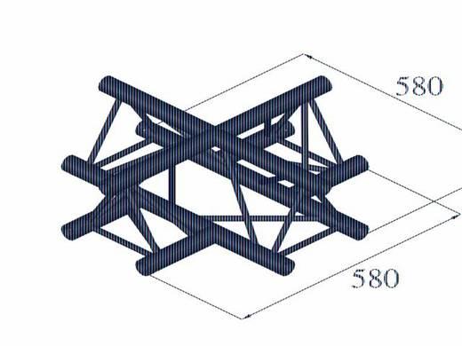 3-Punkt Traverse Kreuzstück 90 ° Alutruss DECOLOCK DQ3-PAC41