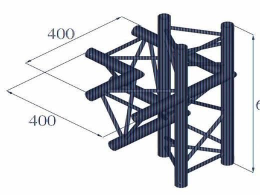 3-Punkt Traverse 4-Weg-Ecke 90 ° Alutruss DECOLOCK DQ3-PAC45
