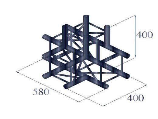 4-Punkt Traverse 4-Weg-Ecke 90 ° Alutruss DECOLOCK DQ4-PAT42