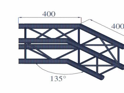 4-Punkt Traverse Ecke 135 ° Alutruss DECOLOCK DQ4-PAC23