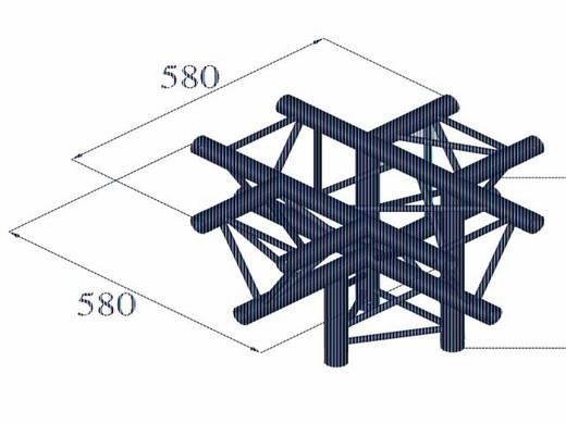 3-Punkt Traverse 5-Weg-Ecke 90 ° Alutruss DECOLOCK DQ3-PAC53