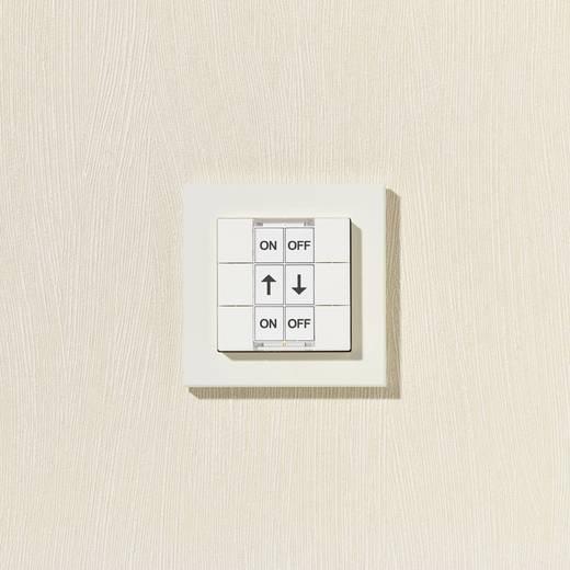 homematic funk wandschalter hm pb 6 wm55 130113 6 kanal. Black Bedroom Furniture Sets. Home Design Ideas