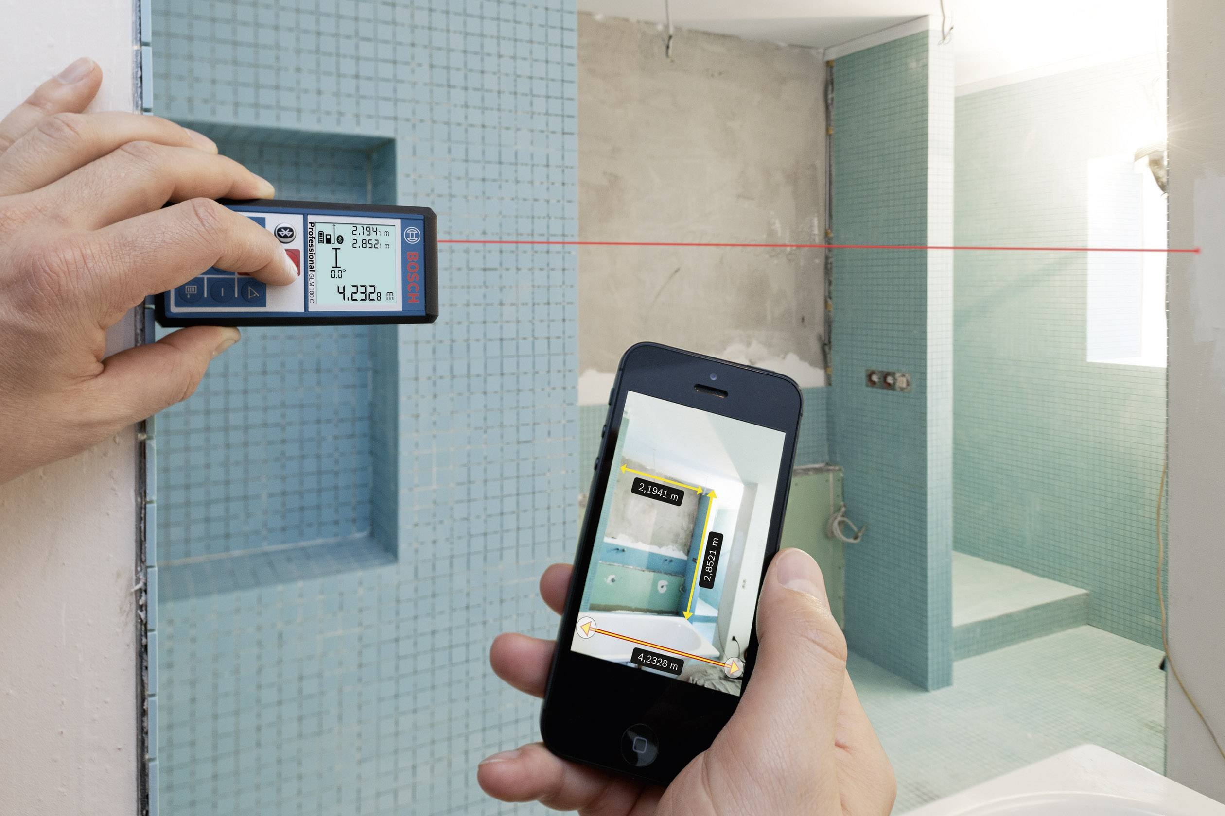 Golf Entfernungsmesser Iphone App : Iphone entfernungsmesser bosch laser zamo