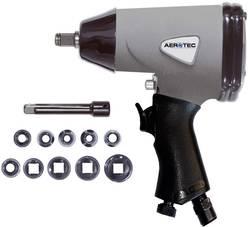 """Pneumatický rázový skrutkovač vr. príslušenstva Aerotec vonkajší štvorhran 1/2 """"(12,5 mm), max. moment 345 Nm"""