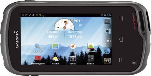 Outdoor Navi Geocaching, Wandern Garmin Monterra Europa, Welt Bluetooth®, GPS, spritzwassergeschützt