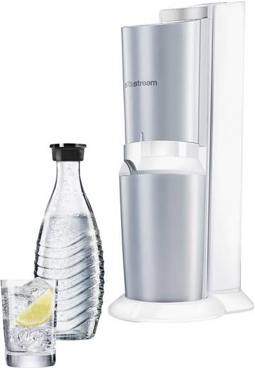 sodastream crystal soda maker set wei grundger t inkl 2. Black Bedroom Furniture Sets. Home Design Ideas