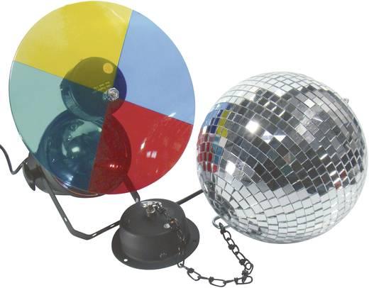 halogen discokugel set mit motor mit farbwechselscheibe 20 cm 50101855 kaufen. Black Bedroom Furniture Sets. Home Design Ideas