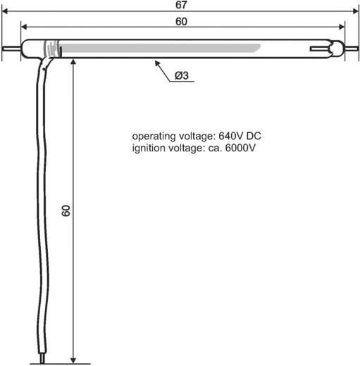 Stroboskop-Blitzröhre Eurolite Weiß