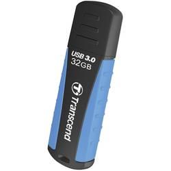 USB flash disk Transcend JetFlash® 810 TS32GJF810, 32 GB, USB 3.2 Gen 1 (USB 3.0), modrá