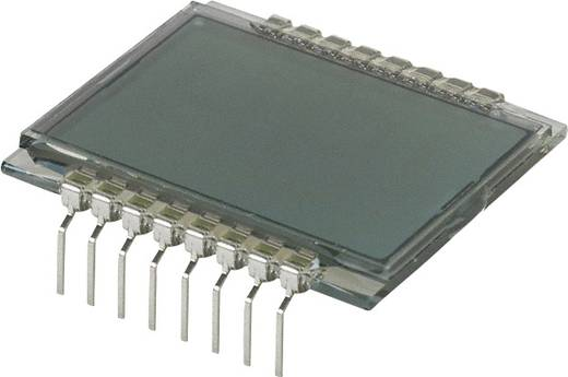 LC-Display Grau (B x H x T) 28.67 x 9.15 x 30 mm LUMEX LCD-S2X1C50TR