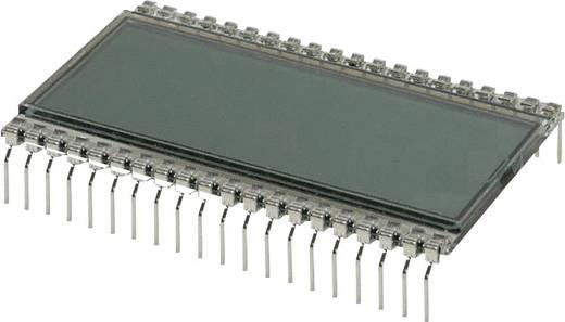 LC-Display Grau (B x H x T) 30.48 x 9.14 x 50.8 mm LUMEX LCD-S3X1C50TR/B