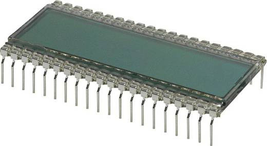 LC-Display Grau (B x H x T) 24.64 x 8.85 x 50.8 mm LUMEX LCD-S401C39TR