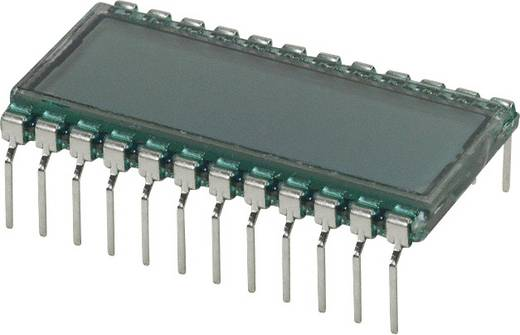 LC-Display Grau (B x H x T) 16.2 x 8.85 x 30.7 mm LUMEX LCD-S301C31TF