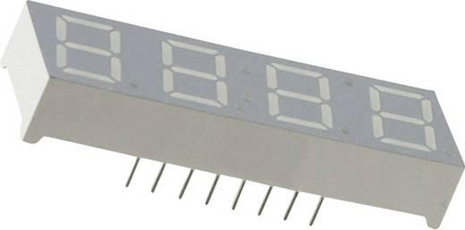 7-Segment-Anzeige Grün 10 mm 2.1 V Ziffernanzahl: 4 Everlight Opto MSQC4411C