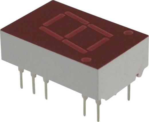 7-Segment-Anzeige Rot 11 mm 2.1 V Ziffernanzahl: 1 Broadcom 5082-7651