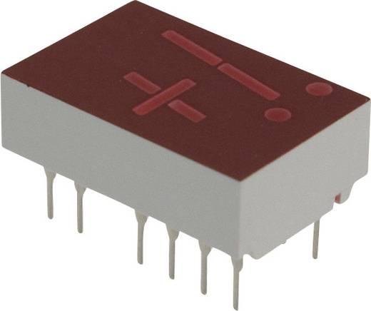 7-Segment-Anzeige Rot 11 mm 2.1 V Ziffernanzahl: 1 Broadcom 5082-7656